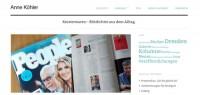Wordpress Umsetzung - Knisterware - Anne Köhler